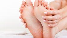 zdrowe kobiece stopy